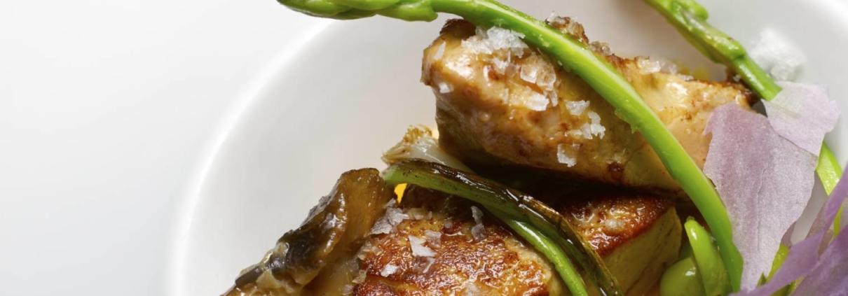 Recette à base de foie gras